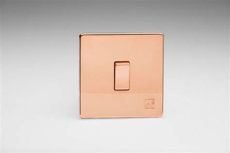 Varilight Antimicrobial Copper 1-Gang 10A 1- or 2-Way