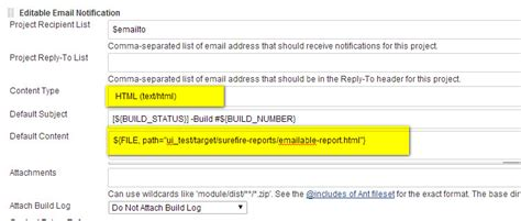 Jenkins email-ext plugin encoding seting for emailable