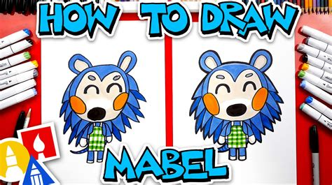 How To Draw Mabel From Animal Crossing - Art For Kids Hub