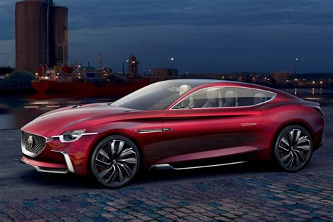 MG E-Motion concept brings electric elegance to Shanghai