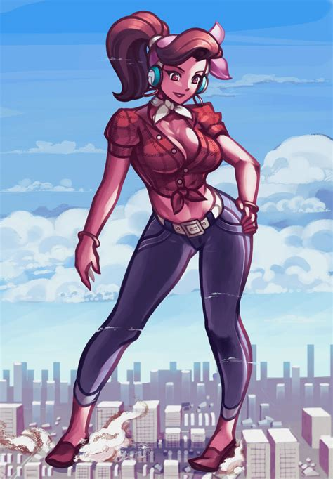 The Females of Overwatch | Giantess and Crush Blog
