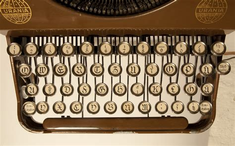 Letterology: A Short History of Typewriters With Blackletter