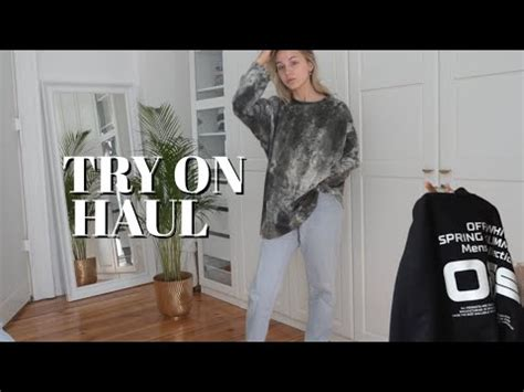 TRY-ON FASHION HAUL   Second Hand, Off-white, LFDY, Brandy