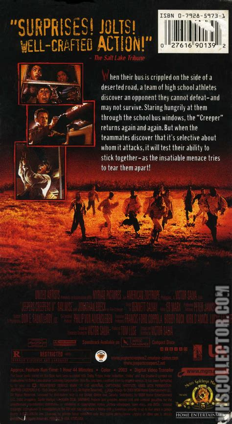 Jeepers Creepers 2 | VHSCollector