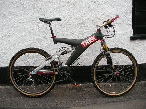1995 TREK Y-22 NEW PROJECT - DONE AND OUT FOR A RIDE