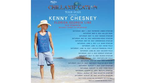 New dates announced for rescheduled Kenny Chesney