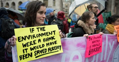 'Stop Funding Ecocide': Extinction Rebellion Protesters