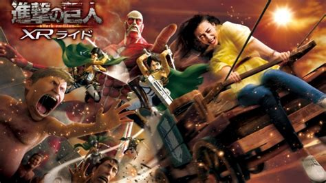 Attack on Titan Releases First XR Ride Key Visual of