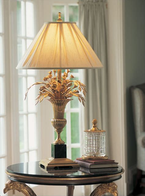 Brass table lamps for living room | Lighting and Ceiling Fans
