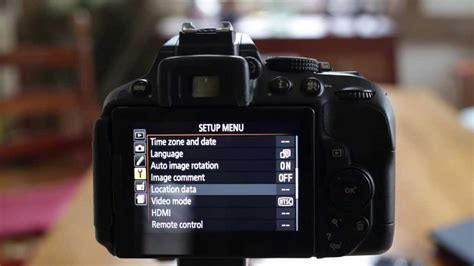Nikon D5300 Review of Wifi and GPS Features