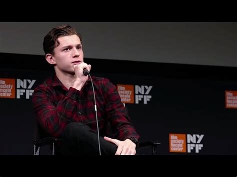 """Tom Holland - """"The Lost City of Z"""" Press Conference NYFF"""