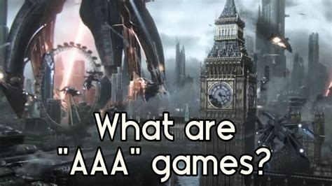 """What are """"AAA"""" games? - YouTube"""