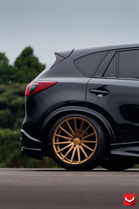 Mazda CX-5 Tuned with Vossen Wheels and Air Suspension