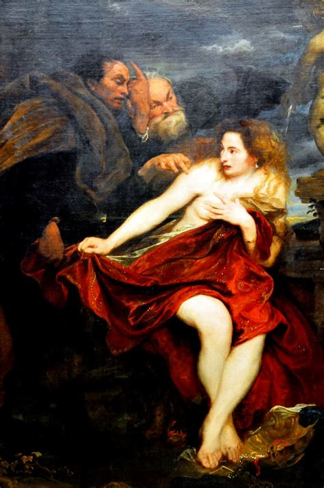 Anthony van Dyck - Susanna and the Elders at Alte Pinakoth