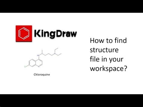 How to find structure file in your workspace?-KingDraw